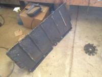 Have a few jeep xj parts for sale Front skid plate 40$