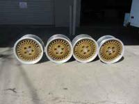 (4) Jeep Cherokee Wheels For Sale Gold Aluminum Mags