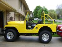 This 1966 Willys Jeep CJ5 is in overall good condition.