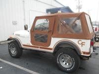 THIS IS A CLASSIC CJ-7 JEEP 4X4 ALL ORIGINAL AND IN
