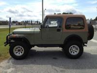I have a 1984 Original Jeep CJ 7 Renegade. I purchased