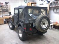 This 1975 Jeep cj5 runs,looks, and sounds great. AMC