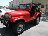 1973 Jeep Cj5 over 50k in the build of this one of a