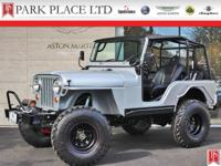 1969 Jeep CJ5 in Bright Silver. Built 4.3L/V6 engine