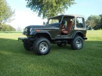 Here is a 1980 cj5 that I brought back to life. It has