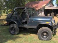 I have 2 CJ-7s and 2 CJ-5s that I am parting out: 1973