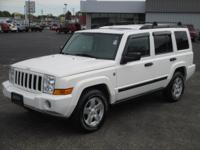 Trail Rated 2006 Jeep Commander with sunroof and second