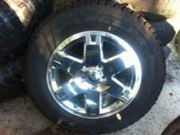 Brand new Jeep Commander wheel and tire. 5 lug size
