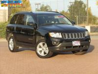 This well maintained 2012 Jeep Compass in Blakc has