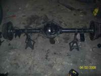 I have a Dana 35 Rear axle out of a 1989 Jeep Cherokee,
