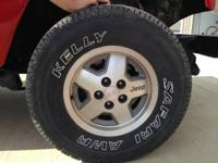 "Manufacturing facility OEM Jeep Wheels, 15"" x 7"", 5"