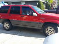 jeep grand Cherokee Laredo 3 year old rebuilt trans