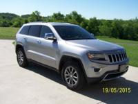 2014 Jeep Cherokee limited new, has approximately 13661