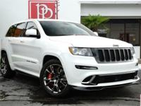 This 2013 Jeep Grand Cherokee SRT-8, finished in Alpine