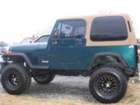Hardtop fits 87-95 yj and 76-87 cj 7, the hard top is