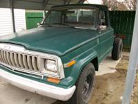 I HAVE SOME  JEEP PARTS FOR SALE THEY ARE FROM  MY 1981