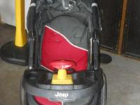 Jogging stroller made by Jeep priced to sell a.s.a.p.