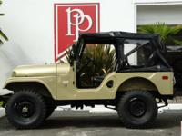 Restored 1970 Kaiser Jeep CJ5 'Open Body' in Spring