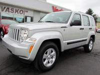 1 Owner 2012 Jeep Liberty 4X4 in excellent pre-owned