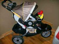 I have a almost new Jeep Liberty jogging stroller that