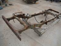 I have a 50's  m-38 jeep frame  to sale  was thinking