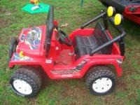 I have this great power wheels for sale batteries