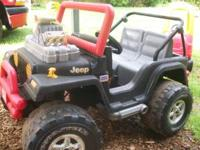 Get ready for the outdoors with this very fun Jeep