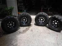 "used 16x7"" rock crawler wheels. 5 on 4.5 bolt pattern"