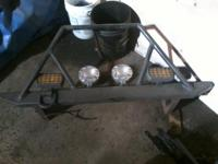 Description rock bumpers fornt and rear comes with