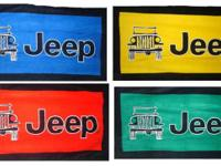 Have numerous designs of seat cover towels that fit