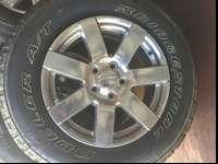 I have a set of 5 wheels and tires that have less than