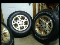 Jeep Grand Cherokee Tires and rims for sale will fit
