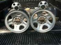 "I have 5 steel jeep Cherokee 15"" wheels with centercaps"