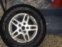 For sale are a set of 4 jeep wheels from a marvelous