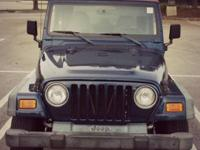 2000 Jeep Wrangler, 2 Door - 4 Cylinder, Manual 5 Speed