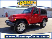 Check out this 2012 Jeep Wrangler Sahara. This car had