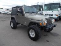 2006 Jeep Wrangler Model: SE Sport **** LIFTED PRO COMP