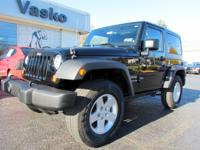 Nicely equipped 2011 Jeep Wrangler Sport 4X4 with