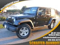 Wrangler Unlimited.Low Miles Only 62,000! 4x4, iPod/MP3