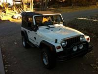 Jeep Wrangler in very good condition. Garaged, comes