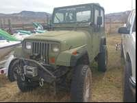 1991 jeep wrangler lockers front and rear 4x4 5 speed