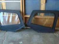 Jeep Wrangler Door tops Both in Good Condition One has