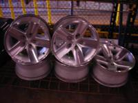 "Made use of 16"" Jeep Wrangler Rubicon Wheels, set of 5"