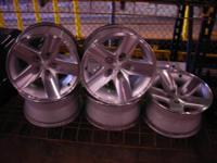 "Used 16"" Jeep Wrangler Rubicon Wheels, set of 5 in"