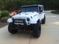 2014 JEEP WRANGLER UNLIMITED RUBICON X 4X4 CUSTOM.