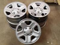 "I have 5 Jeep Wrangler 15"" Steel Rims. All good"