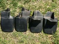 I have 4 factory Jeep Wrangler mud guards in very good