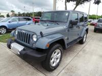 Step into the 2014 Jeep Wrangler Unlimited! This is an