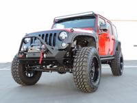This is a Jeep, Wrangler for sale by CNC Motors. The
