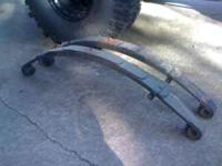 "Rear 4"" lift springs for a Jeep YJ Wrangler $50 Starter"